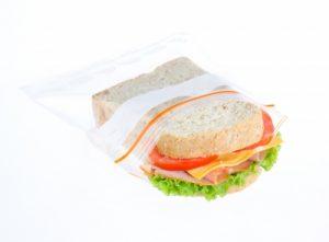 sandwich in zipper bag