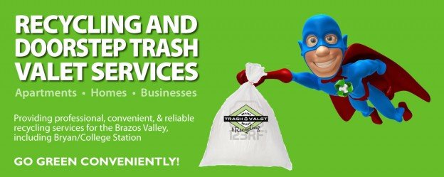 BV Trash Valet Recycling College Station Texas