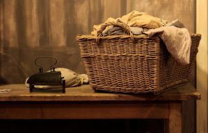 basket of laundry