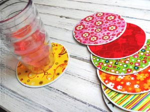 CD Drink Coasters
