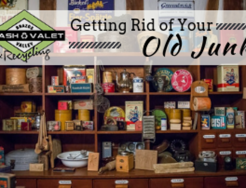 Getting Rid of Your Old Junk Before You Move