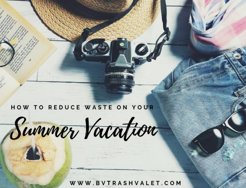 How to Reduce Waste on Your Summer Vacation