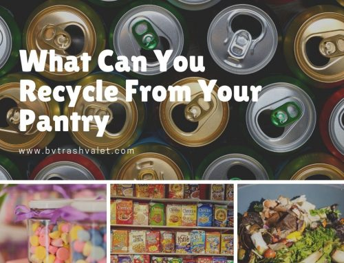 What Can You Recycle From Your Pantry
