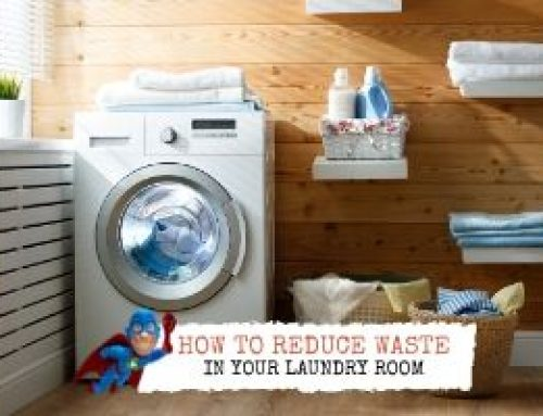How to Reduce Waste in Your Laundry Room