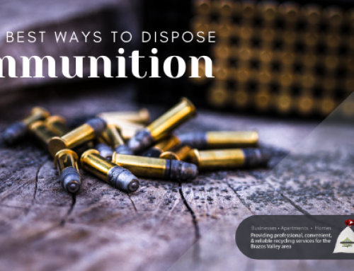 The 3 Best Ways to Dispose of Ammunition