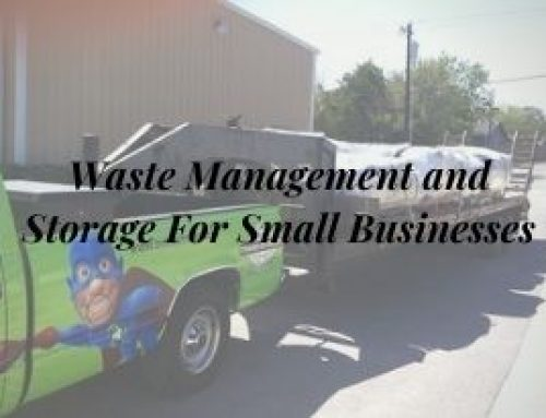 Waste Management and Storage For Small Businesses