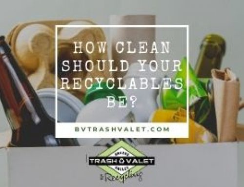 How Clean Should Your Recyclables Be?